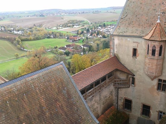 Burg Ronneburg: View from the top