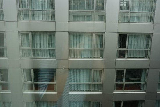 Park Plaza London Riverbank: My window view, quiet