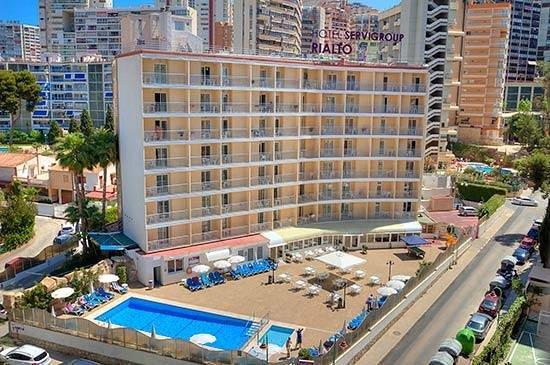 Rialto Hotel Benidorm Reviews