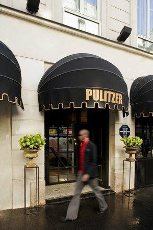 Hotel Pulitzer : entrée