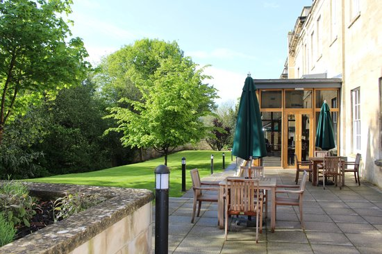 Bailbrook House Hotel: a lovely place to sit