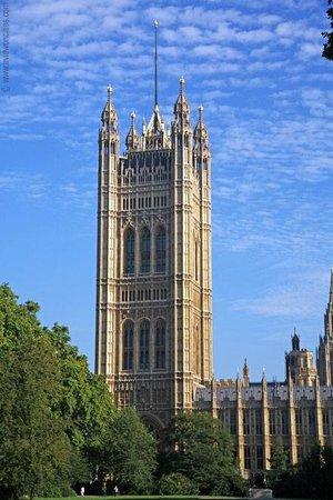 Palais de Westminster : The Victoria Tower