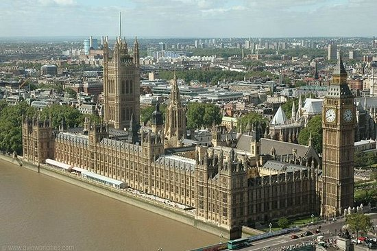 Palais de Westminster : The View from the London Eye