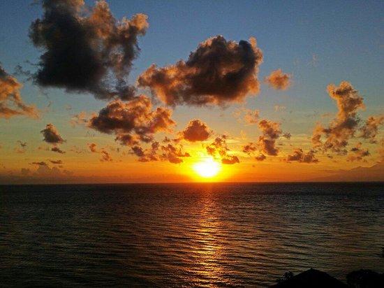 Bed & Breakfast Aquaterrace: Sunrise from Aquaterrace