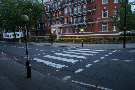 Abbey Road Studios : Переход