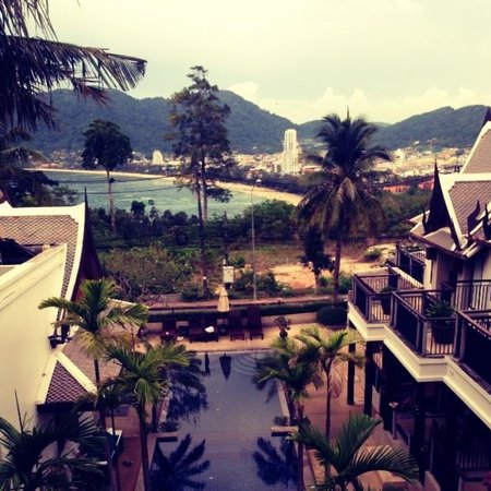 Baan Yin Dee Boutique Resort : View from our room