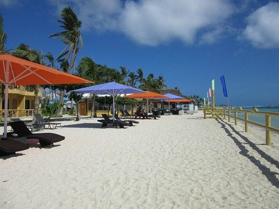 Marlin's Beach Resort: Strand