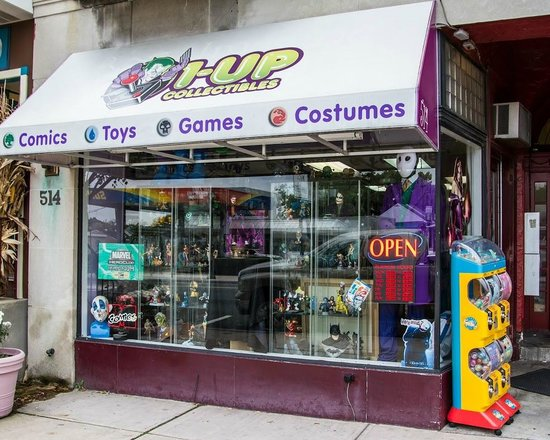 West Reading, PA: 1up Collectibles Store Front