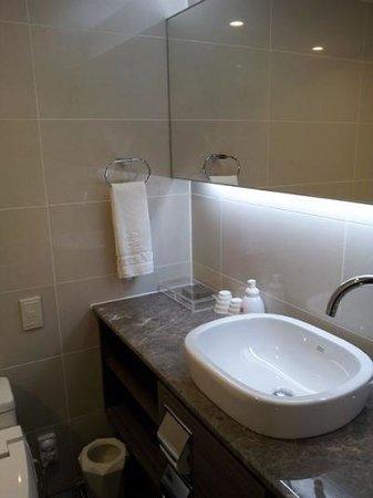 CenterMark Hotel : バスルーム