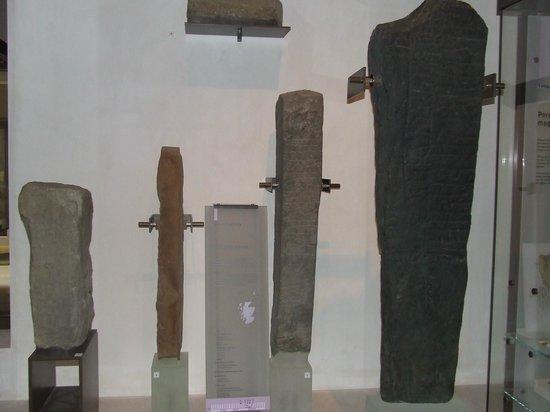 Museo Nacional de Escocia: Carved stones