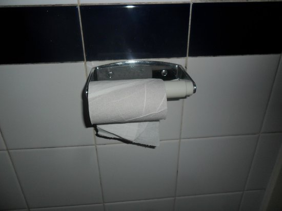 Royal National Hotel: you take for granted that bathroom will have toilet roll, on arrival this is all there was!