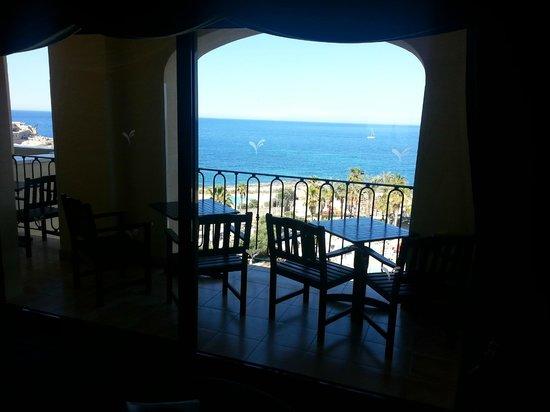 Hilton Malta: view from executive lounge