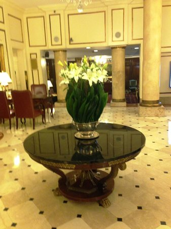 Plaza Hotel Buenos Aires: waiting area ; lobby