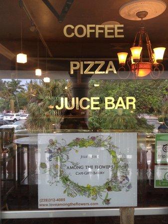 Among The Flowers Juice Sanibel Island Restaurant