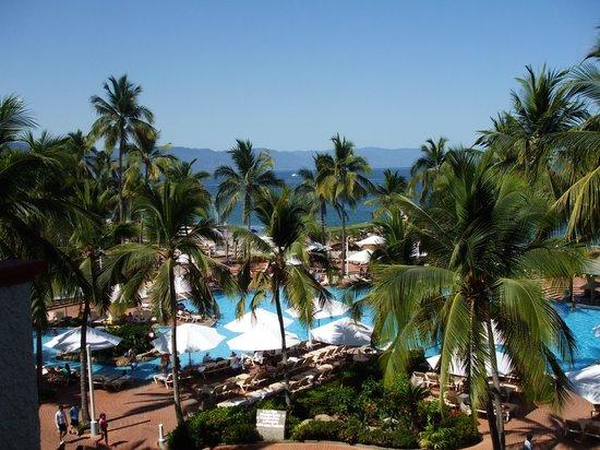 Sheraton Buganvilias Resort & Convention Center : Vue de la terrasse