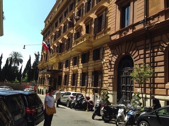 Sofitel Rome Villa Borghese: Le Sofitel, un superbe etablissement dans un cadre merveilleux!