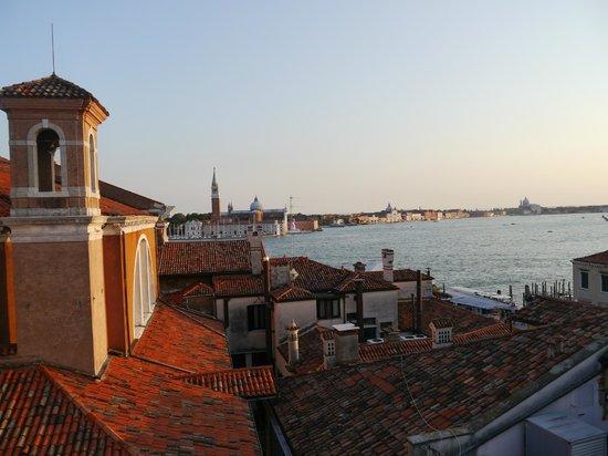 Bed & Venice : Roof-top view of San Marco Basin and San Giorgio Maggiore