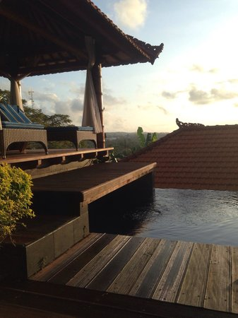 Jimbaran Cliffs Private Hotel & Spa: The private pool. With the view