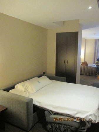 HCC Lugano: комната в отеле