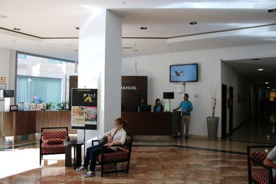 Gran Hotel Don Manuel: Recepción