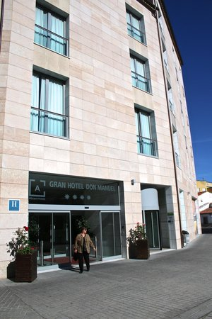 Gran Hotel Don Manuel: Fachada