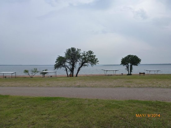 Lake Whitney State Park : View of Lake Whitney from Shelter 9