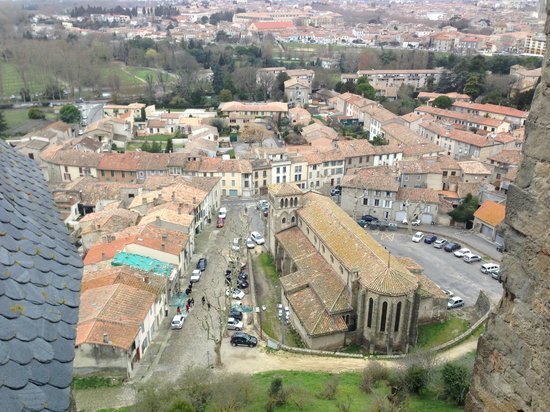 L'Echappee Belle Chambres d'Hotes : View from ramparts