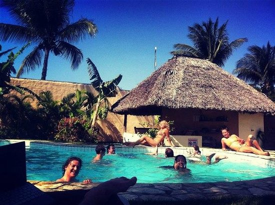 Hooked Cabarete: Отдых в бассейне