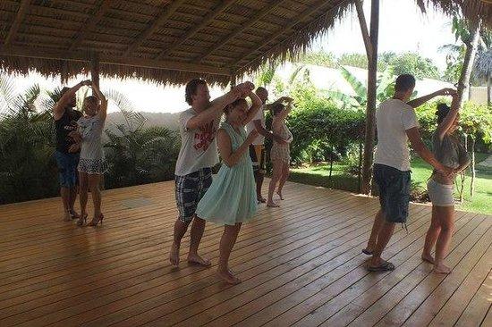 Hooked Cabarete: Зона для занятий йогой и танцами
