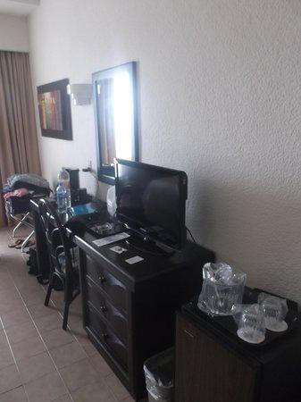 Gamma Campeche Malecón: Notre chambre de luxe.