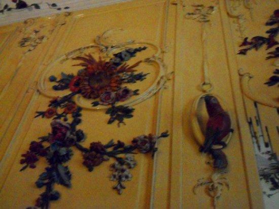 Sanssouci Palace : Mur rococo tropical d'une chambre