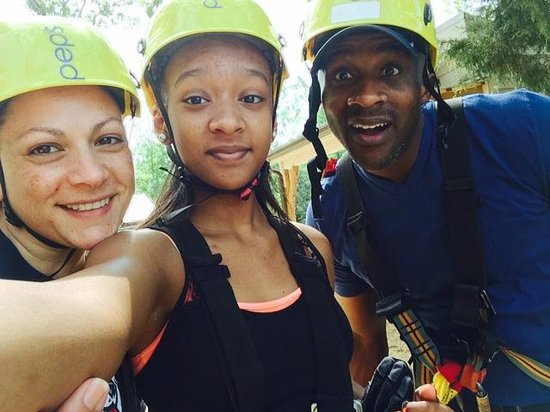 Kersey Valley Zip Line : The Harrington Family