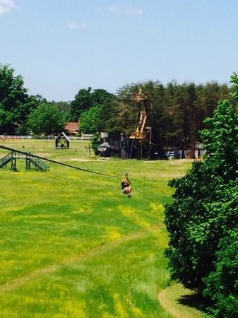 Kersey Valley Zip Line : Zip'en along!!!!