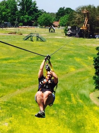Kersey Valley Zip Line : Mothers Day weekend