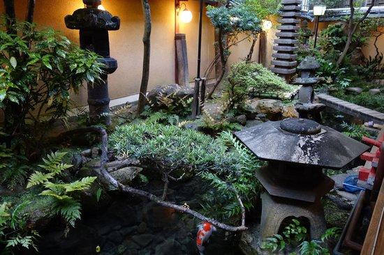 Classic Ryokan Courtyard Amp Koi Pond Picture Of Kikokuso