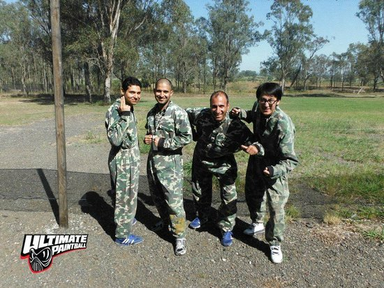 Helensburgh, Australia: Ministry of Paintball