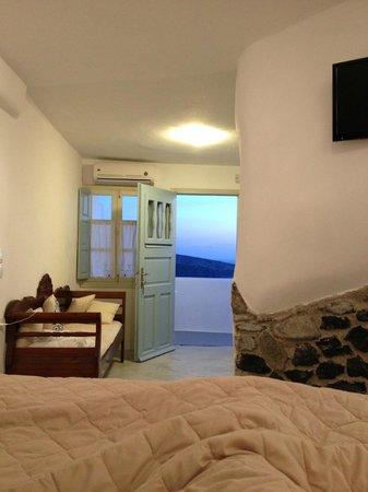 Marizan Caves & Villas : View from inside the room at Marizan