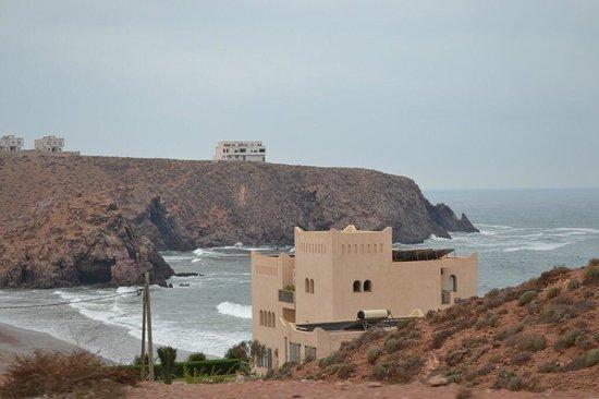Royal Mirage Agadir Hotel : Дорога на пляж легзира