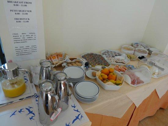 Hotel Il Saraceno: petit dejeuner