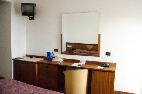 Hotel Antares: Room facilities