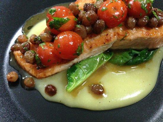 Crazy Chef: Salmon Majorcan Style
