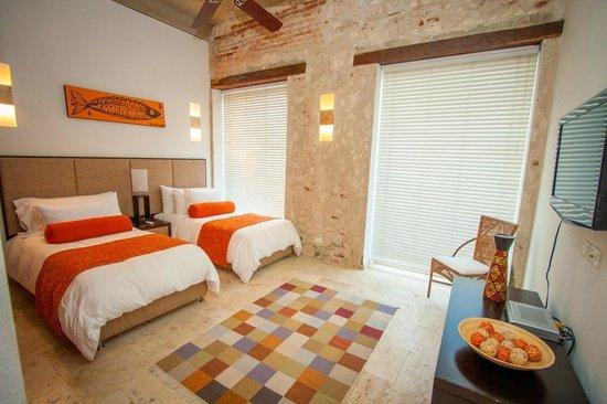 Casa Claver Loft Boutique Hotel : Habitaciones