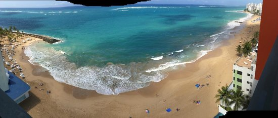 La Concha Renaissance San Juan Resort: View from the room
