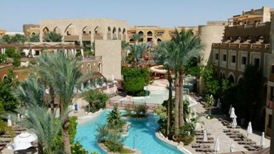Sunwing Waterworld Makadi Hotel: View from our room