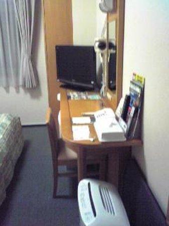 Hotel Route Inn Osaka Honmachi : こんな感じ
