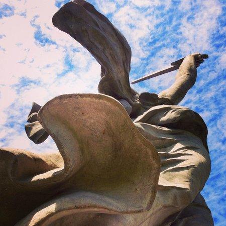 Monuments de la colline Mamaïev : У ног Родины-матери чувствуешь себя маааленьким ребенком