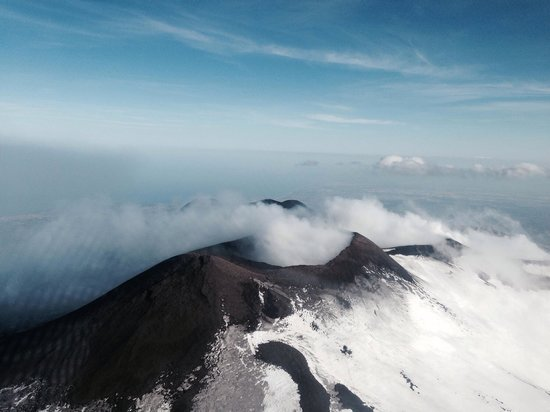 Tredicigradi : Etna cratere centrale
