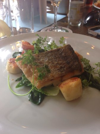 The Staith House : Hake with Gnocchi