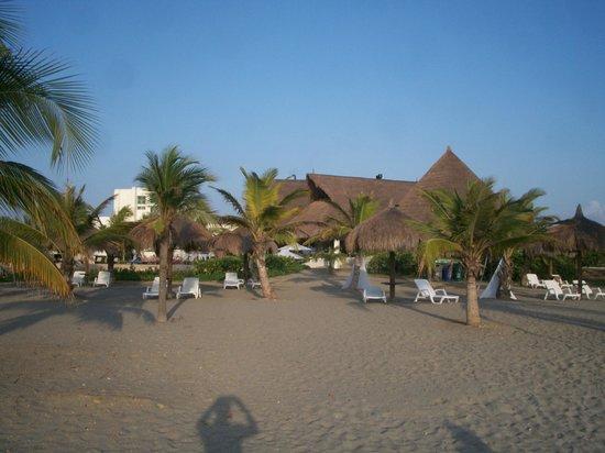 Occidental Cartagena : Vista desde la playa privada