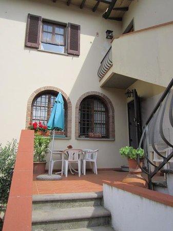 B&B La Piccionaia: Entrata all'apartamento.